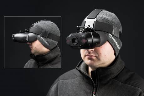 Очки ночного видения с маской Bresser 1–2x