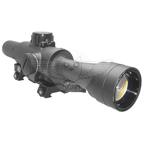Оптический охотничий прицел для гладкоствольного оружия ПО 4х24 П