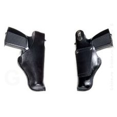 Кобура VEKTOR кожаная для ношения на ремне шириной до 5 см