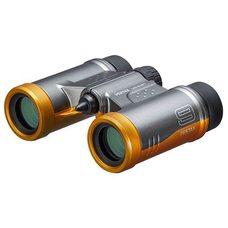 Бинокль PENTAX UD 9x21, серо-оранжевый