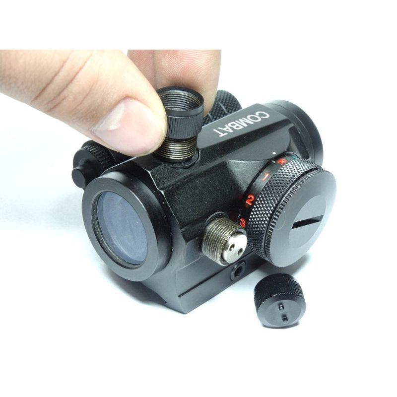 Коллиматорный прицел COMBAT 1x20 c Лазерным Целеуказателем Weaver