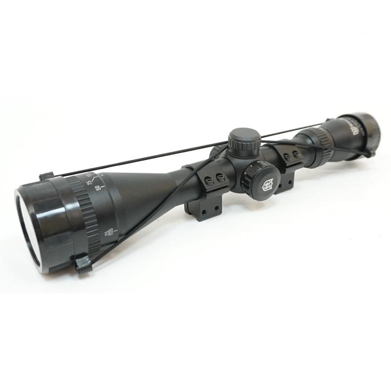 Оптический прицел Nikko Stirling Mountmaster 3-9x40 АО (Half Mil-Dot) с подсветкой