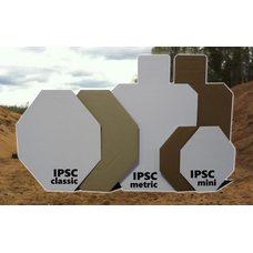 Мишень IPSC мини (с белой стороной)