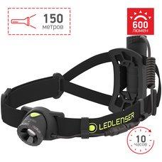 Cветодиодный налобный фонарь LedLencer NEO 10R 500984 черный