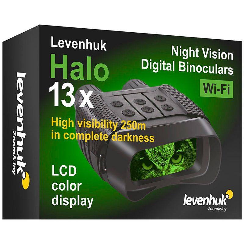 Бинокль цифровой ночного видения Levenhuk Halo 13x Wi-Fi