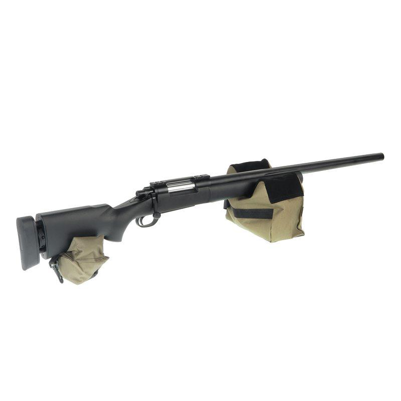 Опора мягкая Veber BeanBag 600 для ружья из двух частей