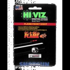 Оптоволоконная мушка HiViz Flame Sight красная