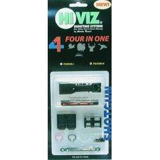 Оптоволоконная мушка HiViz FO2008-I, набор 6,3 мм и 7,5 мм