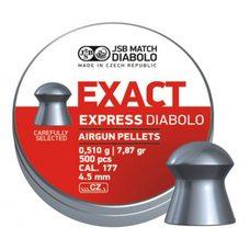 Пульки JSB Exact Express, 0.51 г, 4.5 мм, 500 шт