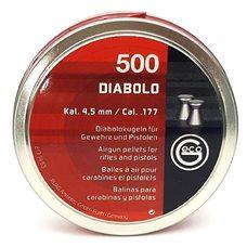 Пульки Geco DIABOLO, 0.47 г, 4.5 мм, 500 шт