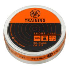Пульки RWS Training, 0.53 г, 4.5 мм, 500 шт