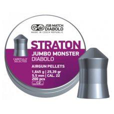 Пульки JSB Diabolo Straton Jumbo Monster, 1.645 г, 5.5 мм, 200 шт