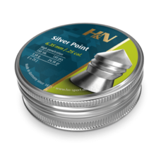 Пульки HN Silver Point, 1.85 г, 6.35 мм, 150 шт