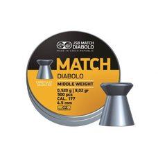 Пульки JSB Yellow Match, 0.52 г, 4.5 мм, 500 шт