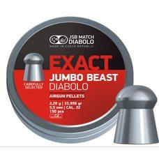 Пульки JSB Exact Jumbo Beast, 2.2 г, 5.5 мм, 150 шт
