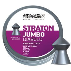 Пульки JSB Diabolo Straton Jumbo, 1.03 г, 5.5 мм, 500 шт