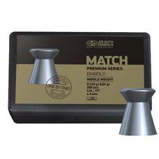 Пульки JSB Match Premium Middle, 0.52 г, 4.5 мм, 200 шт