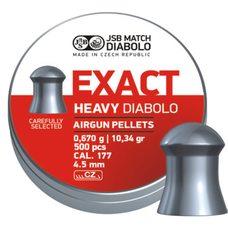 Пульки JSB Exact Heavy, 0.67 г, 4.5 мм, 500 шт