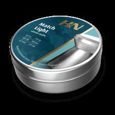 Пульки HN Match Light, 0.51 г, 4.5 мм, 500 шт