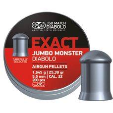 Пульки JSB Exact Jumbo Monster, 1.645 г, 5.5 мм, 200 шт