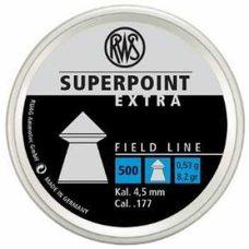 Пульки RWS Superpoint Extra, 0.53 г, 4.5 мм, 500 шт