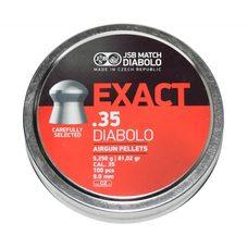 Пульки JSB Diabolo Exact, 5.250 г, 9 мм, 100 шт