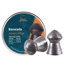 Пульки HN Baracuda, 0.69 г, 4.5 мм, 400 шт