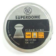 Пульки RWS Superdome, 0.54 г, 4.5 мм, 500 шт