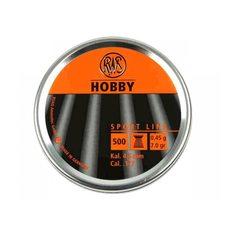 Пульки RWS Hobby, 0.45 г, 4.5 мм, 500 шт