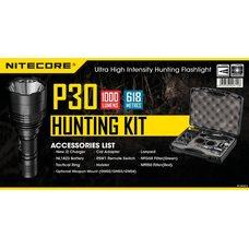 Комплект для охоты Nitecore P30 Hunting Kit Cree XP-L HI V3