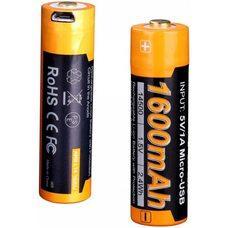 Аккумулятор с разъемом для USB 14500 FENIX 1600mAh ARB-L14-1600U