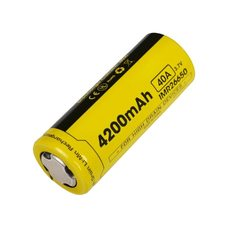 Аккумулятор Nitecore IMR 26650 3.7v 4000mA, без защиты