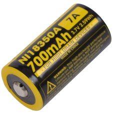 Аккумулятор Nitecore IMR NL18350A 3.7v (700mA) 7A
