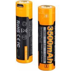 Аккумулятор с разъемом для USB 18650 FENIX 3500mAh ARB-L18-3500U