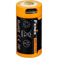 Аккумулятор с разъемом для USB 16340 FENIX 700 mAh Li-ion ARB-L16-700U