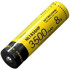 Аккумулятор Nitecore NL1835HP, 18650, 3500mAh (для TM28, EC23, Concept1)