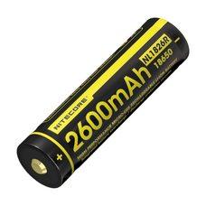Аккумулятор Nitecore NL1826R 18650 3.7v 2600mA