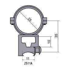 Крепление - кольца 2511 A