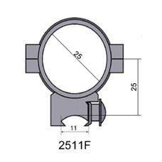 Крепление - кольца 2511 F