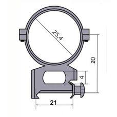 Крепление - кольца 2521