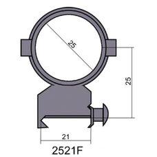 Крепление - кольца 2521 F