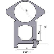 Крепление - кольца 2521 H