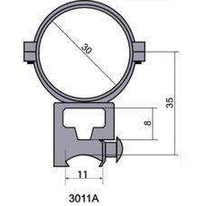 Крепление - кольца 3011 A