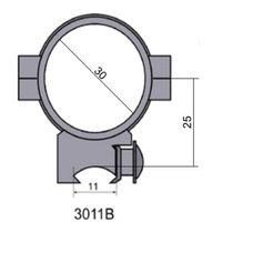 Крепление - кольца 3011 В