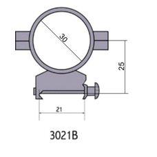 Крепление - кольца 3021 B