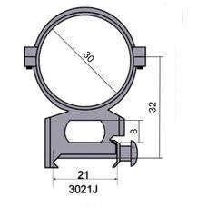 Крепление - кольца 3021 J