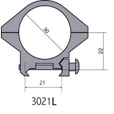 Крепление - кольца 3021 L