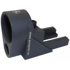 Адаптер для установки телескопического приклада Монолит-В на РПК, СОК-95, Вепрь-123 и 205-04