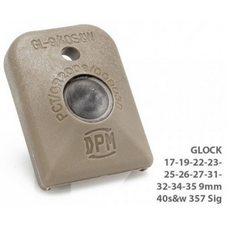 Стеклобой полимерный GLOCK 17/19/22/23/25/26/27/31/32 34/35 9mm / 40 s&w 357Sig Tan