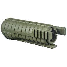 Полимерное цевье FGR-3, зелёный
